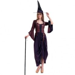 Long black witch dress. Classical, mysterious and still sexy.