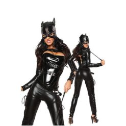 sexy catwoman costume with mask
