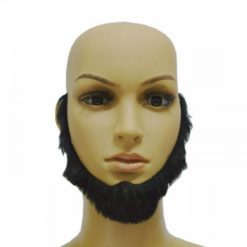 Black beard without mustache