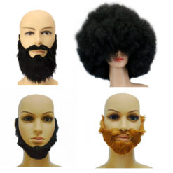 Wigs and Facial Hairs