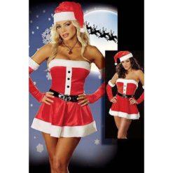 Sexy santa claus dress for christmas
