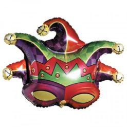 Mardi Gras Balloon mask shaped