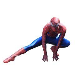Spider-man costume. 3D printed jumpsuit