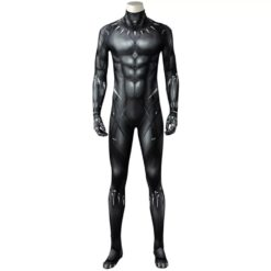 Black Panther jumpsuit costume for adults