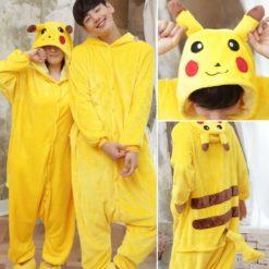 Yellow Hooded Pikachu Costume