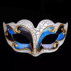 venetian crackle mask super fancy